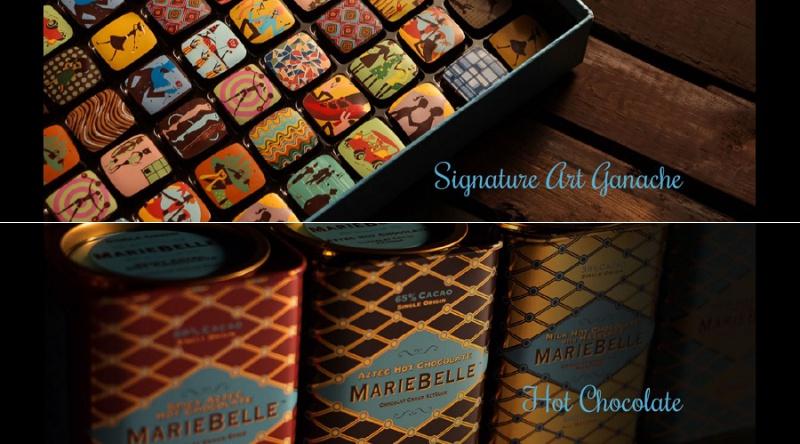 マリベルSIGNATURE ART GANACHE COLLECTION HOT CHOCOLATE