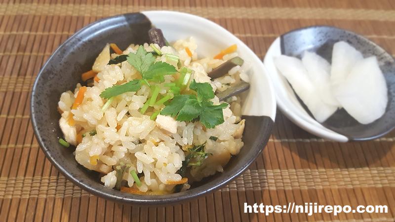 金芽米炊き込みご飯