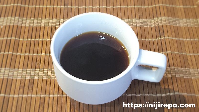 カフェインレスコーヒー砂糖入り
