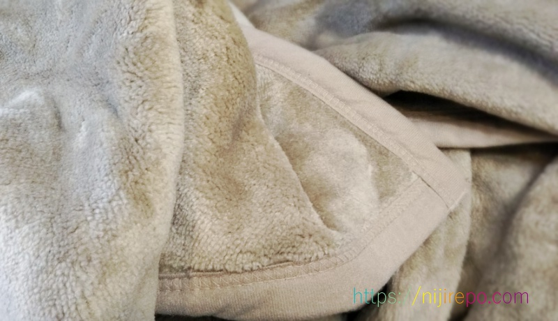 ユニクロヒートテック毛布