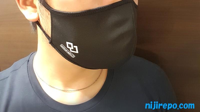 コラントッテ 高機能マスク 着用感