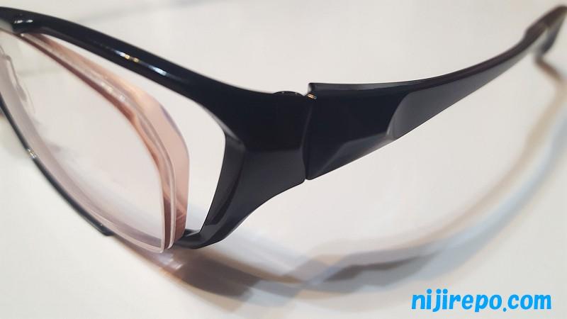 眼鏡市場で折れた眼鏡のテンプル(つる)を交換修理