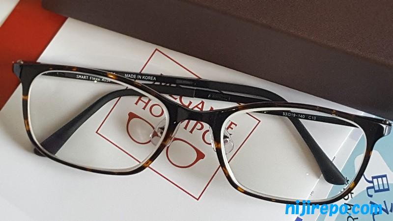 眼科で処方箋を出してもらってつくったメガネ本舗の眼鏡