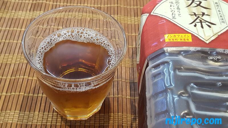 神戸茶房麦茶2リットル見た目