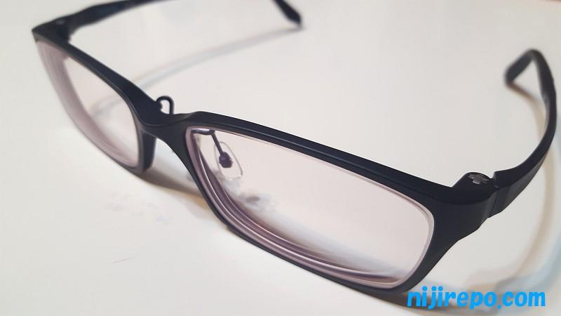 眼鏡市場で新しくつくったメガネ